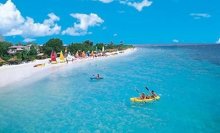 Tropical Beach White House Montego Bay